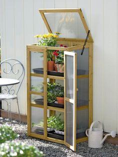 Compact Patio Grow House - Gardener's Supply Company
