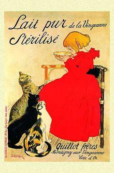 Vintage  Art Poster Print Postcard ☮~ღ~*~*✿⊱  レ o √ 乇 !! ~