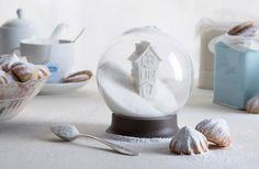 Le sucrier boule à neige, un accessoire mignon pour mettre un peu de magie dans ta pause café !