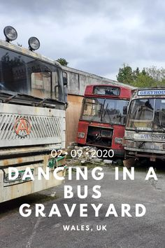 Season 1 of footSTEPS comes to an end with an extended dance film through an abandoned bus graveyard in South Wales. Wales Uk, South Wales, Urban Exploration, Abandoned, Have Fun, Dance, Explore, Travel, Left Out
