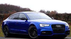 Audi Blue Sedan Luxury Car Art Print - Cars and motor Ferrari 458, Lamborghini Aventador, Maserati, Bugatti, Web Design, Website Design, Bmw M4, Car Photos, Modified Cars