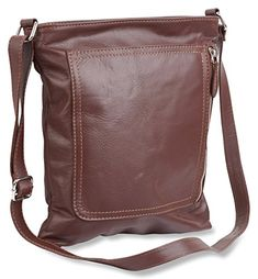 LaGaksta Kate Italian Soft Leather Shoulder Crossbody BagBrown -- Continue  to the product at the image link. 4360cd51de3fa