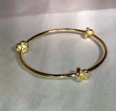 Knot Bangle by dollieLINKS on Etsy, $18.00