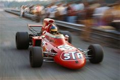 Ronnie Peterson (March-Ford 711 STP) Grand Prix d'Italie - Monza 1972