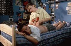 Scott Neal, Glen Berry | Essential Gay Themed Films To Watch, Beautiful Thing http://gay-themed-films.com/films-to-watch-beautiful-thing/