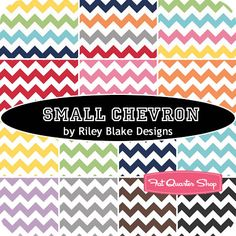 Small Chevron Yardage Riley Blake Designs - Fat Quarter Shop