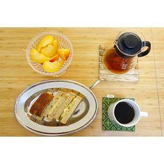 朝ごはんは、昨晩作ったキュン玉ポテトサラダを使って、キュンタマゴポテトサンドイッチ。サンドイッチにしてもうまいわ😎 #meallog #food #foodporn #tw