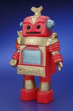 Rad Sofubi Robot by Inspire