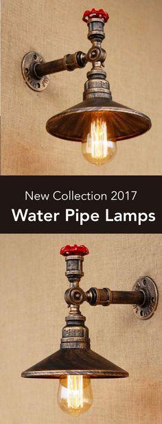 Industrial STYLE ALUMINIUM /& BRASS LAMP holder Plafonnier Support