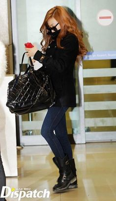 Tiffany ; cool airport fashion