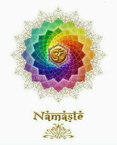 Namaste, Om, 7 chakras