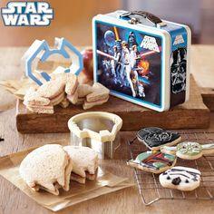 Star Wars Sandwich Cutters (Image courtesy Williams-Sonoma)