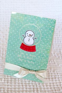 Let it Snow card by Jessica Witty