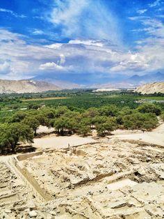 Casma Peru/ Sechin Ruins Overlook