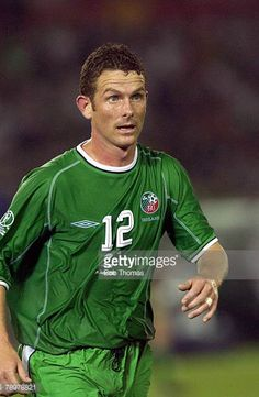 Football 2002 FIFA World Cup Finals Yokohama Japan 11th June 2002 Saudi Arabia 0 v Republic of Ireland 3 Mark Kinsella Ireland