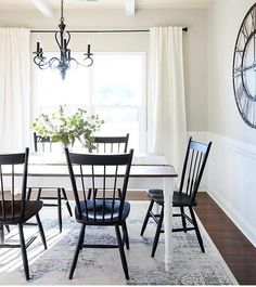 Vintage French Soul ~ Dining room chairs