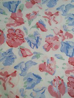 Laura Ashley Sweet Pea Fabric All Things Vintage