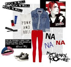 """""""MY CHEMICAL ROMANCE"""" by purplescarecrow on Polyvore"""