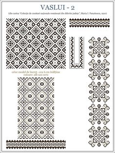 Flowers for Paint or Embroidery Aunt Martha's Hot Iron Embroidery Transfer - Embroidery Design Guide Celtic Cross Stitch, Cross Stitch Borders, Cross Stitching, Cross Stitch Patterns, Folk Embroidery, Embroidery Patterns, Knitting Patterns, Blackwork, Pattern Pictures