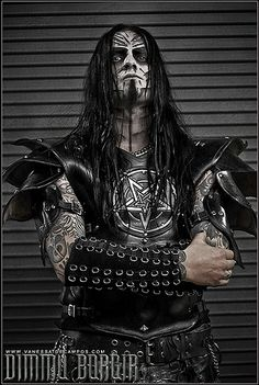 Shagrath of dimmu Borgir