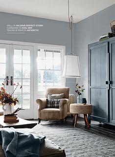 C is for Culture, Change and Colour Trends: Valspar 2018 Interior Paint Colors, Gray Interior, Interior Design, Design Interiors, Paint Colours, Paint Brands, 2018 Color, Secret Rooms, Valspar