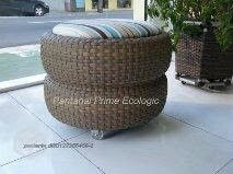 Outdoor Furniture, Outdoor Decor, Straw Bag, Ottoman, Sofa, Home Decor, Settee, Decoration Home, Room Decor