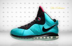 """LeBron 8 South Beach   Home Home Sneakers Nike Air Max LeBron 8 """"South Beach"""""""