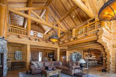 Beautiful Log Home – $7,800,000