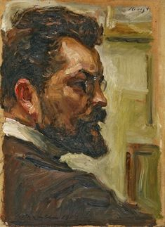 Self portrait (1903), Max Slevogt