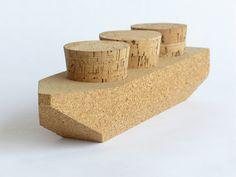 Cork Cargo (Daniel Michalik, 2012). These boats are ideal for bath time play, with removable corks for lots of floaty, interactive fun!