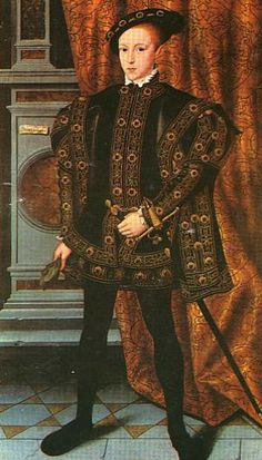 Edward VI by William Scrots, c.1550. (The Royal Collection)