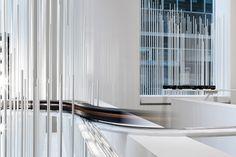 Calvin Klein christmas windows by Snarkitecture