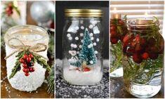 Villámgyors, filléres karácsonyi ajándékötletek befőttesüvegből (de a te lakásodban is jól mutatnak)