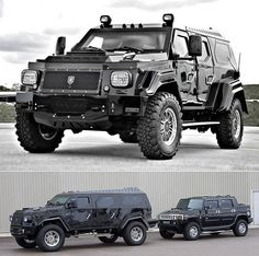 It's hard not to love ridiculous stuff like this... 13,000 LBS, Full Ballistic Armor, Rolls Royce Luxury and Makes a Hummer Look Like A Toy.
