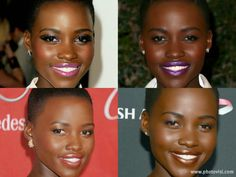 Diario de uma mulher negra: Maquilhagem para mulheres negras,o estilo de Lupit...