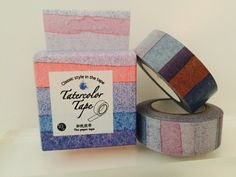 Ombre Pavement Boxed Washi Tape by GoatGirlMH on Etsy