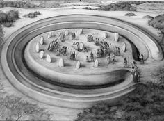 Henges in the British Isles are identical to those found in the Ohio Valley.  Henge gateways were aligned to solar events.