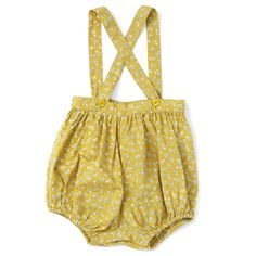 Romper Dill Olive - Caramel Baby & Child - Designers