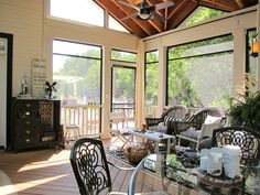 Porch Sleeping Porch Design, Pictures, Remodel, Decor and Ideas - page 9