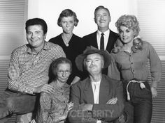 The Beverly Hillbillies cast of the show