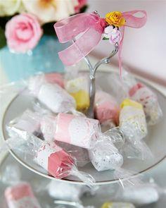Delikate karameller som sangskjuler