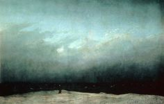 Caspar David Friedrich - Der Mönch am Meer