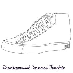 how to draw converse how to draw chuck taylors step 6