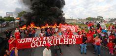 Galdino Saquarema 1ª Página: Manifestantes protestam contra PEC do Teto pelo pa...