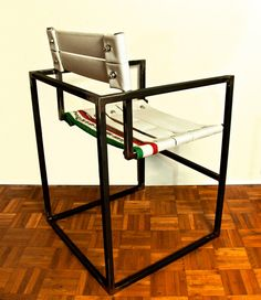 Fire hose chair by OBGETTI
