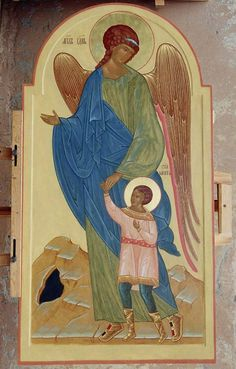 Religious Icons, Religious Art, Today's Saint, Gabriel, Religious Paintings, Byzantine Icons, Archangel Michael, Catholic Art, Guardian Angels