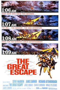 The Great Escape -- In the role that made him a superstar, Steve McQueen leads an all star cast in this