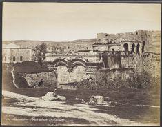 Jérusalem Porte dorée, (intérieur) - Félix Bonfils