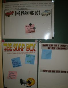 Marg has some awesome ideas for older kids regarding sharing without breaking the flow of the lesson. Love the 'soap box' idea - sticky note things to share onto the soap box and then we get to them late.