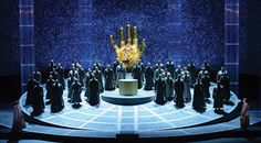 Parsifal. Lyric Opera of Chicago. Scenic design by Johan Engels.